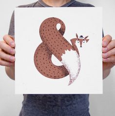 Really nice ampersand poster from Chris Sandlin. You can buy it here !