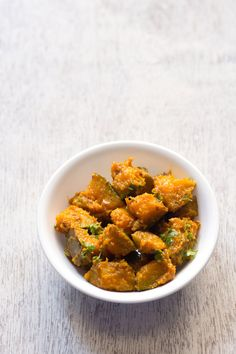 khatta meetha kaddu sabzi, sweet sour pumpkin recipe, navratri recipes