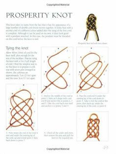 Chinese Knots for Beaded Jewellery Paracord Knots, Rope Knots, Macrame Knots, Micro Macrame, Tying Knots, Knot Braid, Paracord Projects, Book Of Shadows, Celtic Knot
