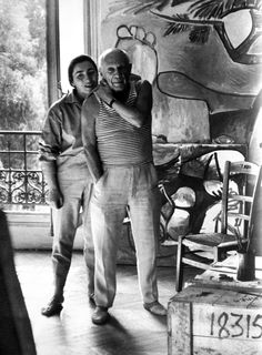 Picasso and Jacqueline photographed by David Douglas Duncan