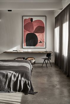 working corner in the bedroom