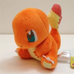 "New Pokemon 4"" Soft Stuffed Plush Toy Doll Charmander"