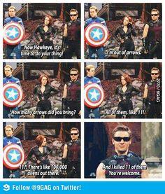Dammit Hawkeye
