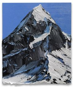 Sweeping mountain paintings by Conrad Jon Godly