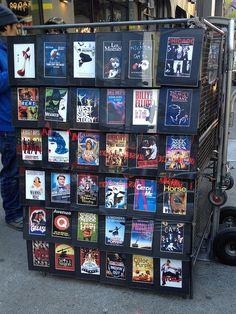 Broadway Posters Art by Toby Simkin, via Flickr