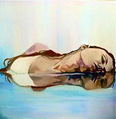 "Saatchi Online Artist: Natalie Marie Crane; Oil, 2012, Painting ""Amendment"""