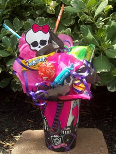 Monster High Kids Candy Party Favors