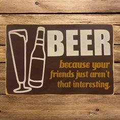 Lol Beer Sign