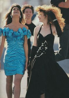 Prom Dress Magazines 1987