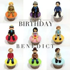 Happy Birthday Benedict, I wish you all the best in the world and thank you for being you! (send u birthday cupcakebatch :D) xoxo
