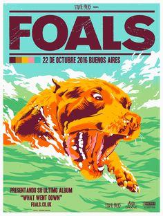 Foals Argentina (poster web) George Manta