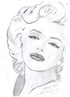 Marilyn, artist: Svetlana Pelin