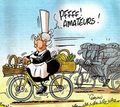 Le Vélo en Bretagne : çà ne rigole pas !!!