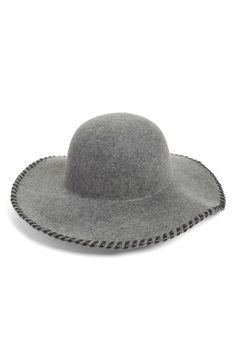 Phase 3 Whipstitch Wool Floppy Hat available at  Nordstrom Artesanato De  Chapéu 56d585d1cd2