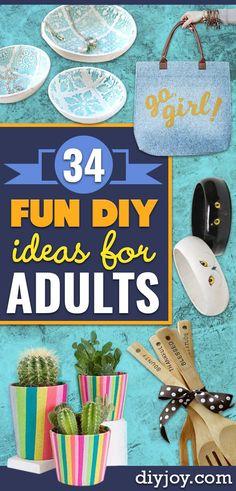 50 Fun DIYs for Adults
