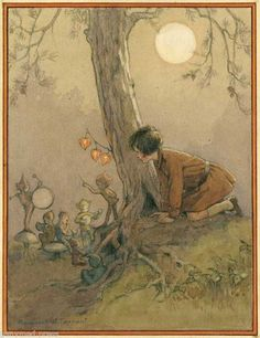 Margaret Tarrant - The Elfin Band, always told my kids about the tree fairies