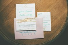 love the look and colors of this invite.