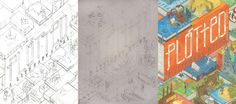 The development of a cover: Plotted: A Literary Atlas