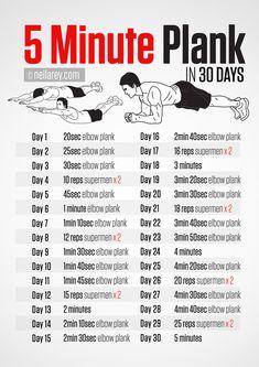 Five Minute Plank Challenge