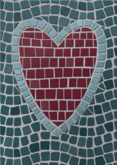 I had fun learning how to use Molly Suber Thorpe's Procreate Fauxsaics kit. It's incredibly therapeutic! Check out her tutorials on Skillshare to learn hope to use it - she is so clear and instructive. #fauxsaics #mosaics #heart #procreate