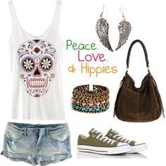 Peace love hippie