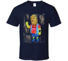 Donald Trump Simpsons style Bully with Putin funny tattoo distressed t-shirt