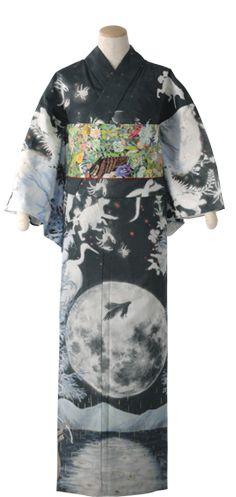 BEST OF KIMONO NAGOYA 2013 Links open in new window • Moon Obi with purple kimono • Green furisode • White furisode with Calla Lilies • Spring sakura kimono • Kimonomachi's yukata with red obi •...
