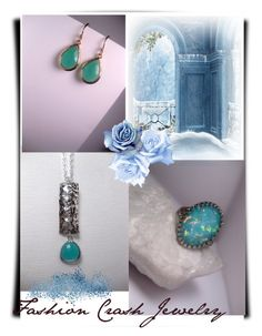 """""""Touch of Blue/Fashion Crash Jewelry 19"""" by lightstyle ❤ liked on Polyvore"""