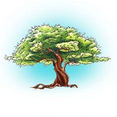 The Fig Tree Digi Stamp in Digital images