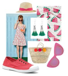 """""""Pom-poms, tassels & watermelons"""" by fairlyunfocused on Polyvore featuring Bibico and STELLA McCARTNEY"""