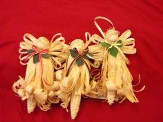 corn husk wreath tutorial | corn husk angels