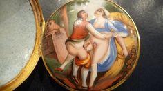 Montre érotique du XVIIIeme siècle
