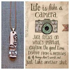 Photographer jewelry. Customized necklace! Shop here! https://keep-collective.com/with/kylenepippin