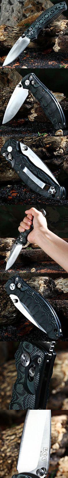 Pocket Knives and Folding Knives | Enlan Bee EL-04 MCT Axis Lock Folding Knife