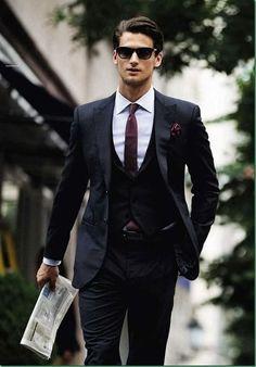 Wednesday Men Suit Look