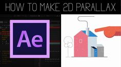 2D/3D Flat Parallax Animation | After effects Tutorial + Project File!
