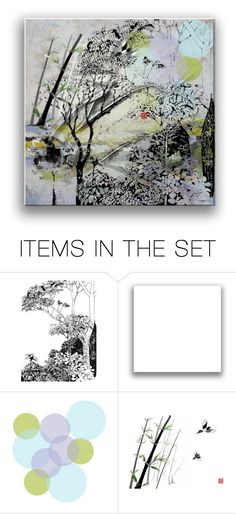 """""""Any place"""" by elyeyer ❤ liked on Polyvore featuring art"""