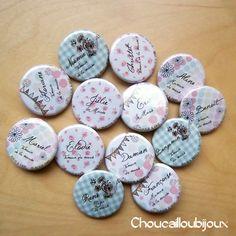 Des badges pour mon mariage {concours}