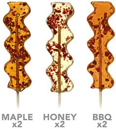 Savory Bacon Pops, hmmm not too sure about this 1 but it intrigues me nonetheless