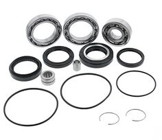 Front Differential Bearing and Seal Kit fits Fourtrax TRX 300 Wolverine YFM 350 Big Bear 400 Kodiak 400 Cycle ATV