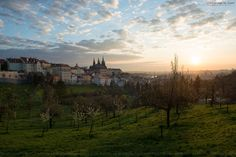 When the new day come to the Prague.