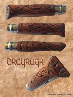 Dreyrugr: Celtic/Norse Clasp-Knife. €59.95, via Etsy. $79.93 In old Norse it means Blood Stained (knew that before hand!)