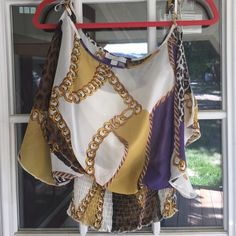 Stylish blouse!! New without tags! Built in strapless underlying tank. Toska Tops
