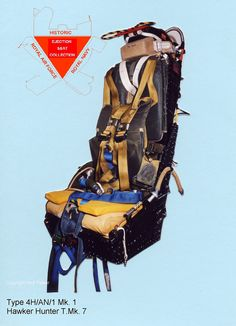 Type 4HAN/1 Martin Baker Ejection Seat from Hawker Hunter T.MK 8