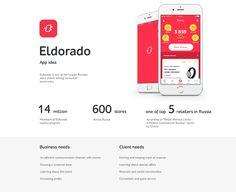 Eldorado APP on Behance