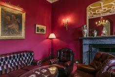 A room of regal splendour. Robert Parker, Function Room, Edinburgh Scotland, Leather Furniture, Conference, Castle, Group, Luxury, Business