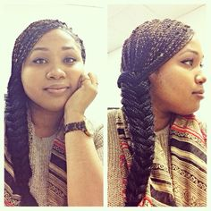 Senegalese Twists, Fishtail Braid, Protective styles, Micro twists