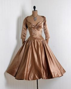 Dinner Dress 1950s Timeless Vixen Vintage