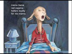 Llama Llama Red Pajama read aloud by Anna Dewdney Kindergarten Ipads Llama Llama Red Pajama, Baby Llama, Listen To Reading, Red Pajamas, Read Aloud Books, Creative Curriculum, Rhymes For Kids, School Videos, Educational Videos
