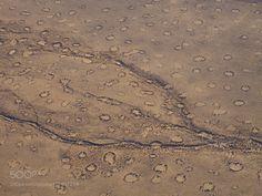 Namibias Fairy Circles by thisismarysharp1  travel aerial sand africa desert namibia namib airy cicle thisismarysharp1